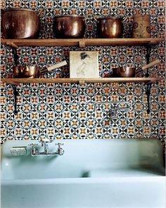 Design Sleuth: Sean MacPherson's Portuguese Tiles