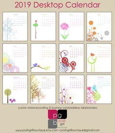 Office & School Supplies Calendar 2019 Cartoon Fruit Kiwi/watermelon Large Cute Desktop Paper Calendar Daily Scheduler Table Diy Planner Yearly Agenda Organizer Without Return