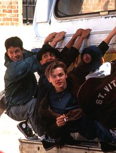 For those who haven't seen The Basketball Diaries ... why HELLO Mark Wahlberg, and Leonardo DiCaprio ! ! ! !
