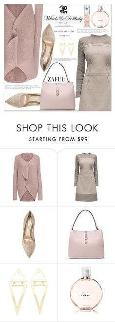 """www.zaful.com/?lkid=7011"" by lucky-1990 ❤ liked on Polyvore featuring Lattori, Wheels & Dollbaby, Gianvito Rossi, Chanel, L'Oréal Paris and zaful"