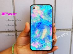 Fashion watercolor,iphone case,iphone 5s case,iphone 5c case,iphone case,Samsung Galaxy S3 Case,iPhone 4 Case,iPhone 5 Case,blue,063 on Wanelo