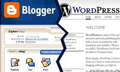Tips on Blogging- Blogger seems easier...but Wordpress seems to get lots of props.