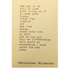 The Blooming of Madness poem #223 written by Christopher Poindexter