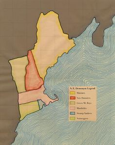 New England Demonym Map