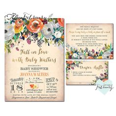 Hey, I found this really awesome Etsy listing at https://www.etsy.com/listing/463102130/3-piece-fall-baby-shower-invitations-set