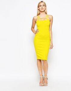 45 Trending Summer Ways To Rock Your Chic And Feminine Style Yellow Midi Dress Yellow Midi Dress, Yellow Blazer, White Dress, Chic Summer Style, Sexy Party Dress, Party Dresses, Fashion Dresses, Midi Dresses, Tall Dresses