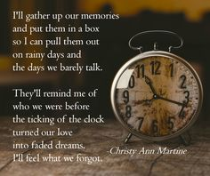 Sad poems - poetry by Christy Ann Martine - Memories - Break ups - Divorce - Relationship quotes - marriage - sad love quotes #christyannmartine #sadquotes