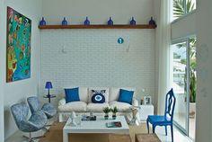 9 ideias criativas de decoração em apartamento com ar mediterrâneo - Casa
