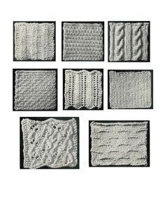 Vintage Crafts and More - free Knitting Beginner Manual and Patterns