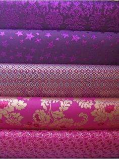 Indian Wrapping Paper - Purple/Plum/Pink Spectrum
