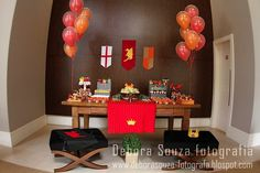 not really a kids party, but some fun decorating ideas