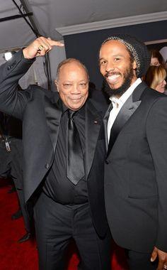 Quincy Jones & Ziggy Marley