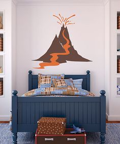 Take a look at this Volcano Wall Decal by Sissy Little on #zulily today!