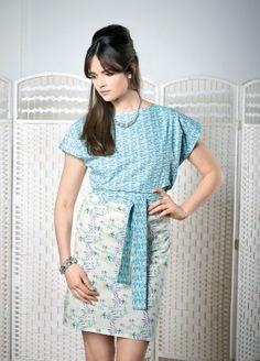 No-Pattern Tunic Dress