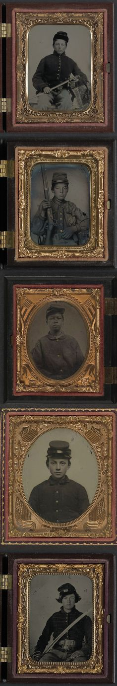 photos of young Civil War soldiers.