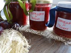 Marmellata di prugne al profumo di limone - ricetta conserve - Marmalade, Ketchup, Jar, Homemade, Food, Canning, Eten, Jars, Hand Made