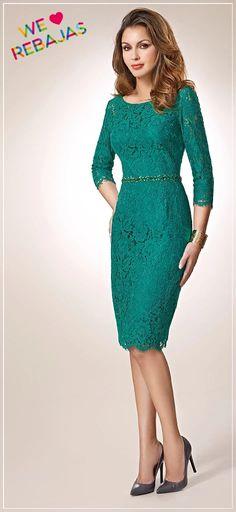 Foto: Invitadas con #vestidos de encaje: Muy elegantes!!.. Un tejido que esta de #moda y es perfecto para una invitada moderna y con glamour.