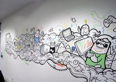 Office Murals: Microsoft - Get A Loada Geo