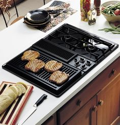 1000 images about kitchen on pinterest appliances for Stove top with built in vent