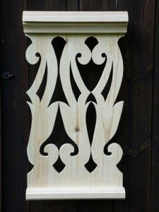 101 Porch Balusters, Door Frame Molding, Brunswick House, Cnc Cutting Design, Wood Craft Patterns, Steel Railing, Cottage Exterior, House With Porch, Scroll Saw Patterns