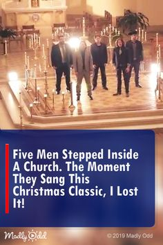 Five Men Stepped Inside a Church. the Moment They Sang This Christmas Classic, I Lost It! Home Free Songs, Home Free Vocal Band, Christmas Music Playlist, Classic Christmas Songs, Christian Music Videos, Sound Of Music, Music Mix, Country Music Singers, Pentatonix