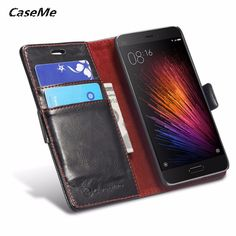 Xiaomi Redmi 4X Case Luxury leather Flip Phone Bags Slim wallet Mobile Phone cover for xiaomi redmi 3S / 4 X  cases #Affiliate