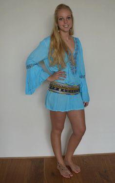 Tuniek Agnes Ibiza Boho style