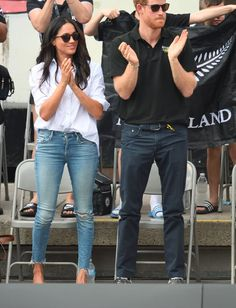 Meghan Markle Has a Closet Full of Jeans That Are Street Style Worthy