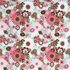 turquoise-Riley-Blake-flannel-fabric-with-flowers-USA-168910-2.jpg (500×500)