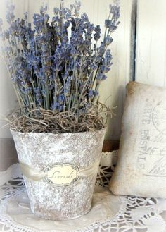 french lavendar bouquets | French Country Lavender Bouquet by timewashed on Etsy…