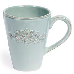 Kaffeebecher Bankett blau