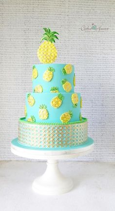 Pineapples - Cake by Cake Heart