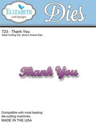 Elizabeth Craft Designs Thank You