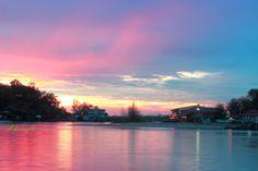 Sunset at Paknam, Ranong, TH