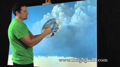 Painting tips and tricks tutorial. 3 Tips On Painting Great Clouds in Oil or Acrylic by Tim Gagnon. Amazing videos for Artists on PaintingTube, take a look! Oil Painting Tips, Acrylic Painting Techniques, Painting Videos, Painting Lessons, Art Techniques, Painting & Drawing, Online Painting, Drawing Lips, Painting Classes