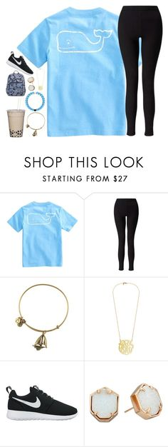 """Untitled #155"" by hannyjep on Polyvore featuring Vineyard Vines, Miss Selfridge, Alex and Ani, NIKE and Kendra Scott"