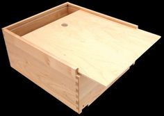 Bread Box with sliding lid