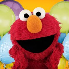 Guess who's celebrating his 3 1/2 birthday…again? This furry guy! Happy birthday Elmo!