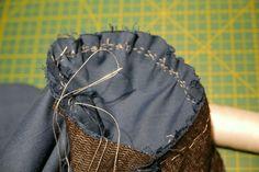 como coser mangas