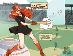 "Images for : Marguerite Bennett Discusses WWII Female Heroes in ""DC Comics Bombshells"" - Comic Book Resources Batwoman, Hawkgirl, Batman Origin, Batman Versus, Dc Comics, Female Hero, Animated Cartoons, Geek Culture, Comic Covers"