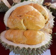 Budidayanya Durian Tree, Fruit And Veg Shop, Beautiful Nature Pictures, Cute Food, Fruits And Vegetables, Camembert Cheese, Cabbage, Beverage, Kawaii