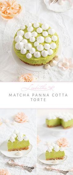 Lasst euch von dieser göttlichen Matcha Panna Cotta Torte direkt aus dem Kühlschrank heraus verführen. Wer ein erfrischendes Stück Törtchen sucht, das zugleich munter macht, entspannt und für gute Laune sorgt, na der sollte sich dieses Matcha-Glück zubereiten. Munter, Cookie Time, Matcha Green Tea, Foodblogger, Wer, Amazing Cakes, Yummy Cakes, Vanilla Cake, Summer Vibes