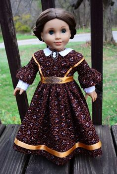 SOLD Little Women: Jo Civil War Dress,Outfit,Clothes for American Girl -Lumi