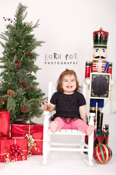 Born For Photography. Kids Christmas Photography.