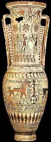 The Euphronios Calyx Krater ca. 510 - 500 BC This vessel ...