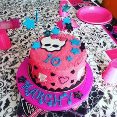 Monster High Cake Pan di Spagna Vanilla Raspberry