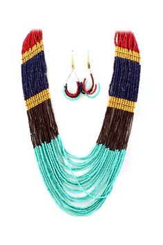 Seraphine Necklace Set | Awesome Selection of Chic Fashion Jewelry | love the colors