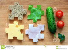 food puzzle - Google Search