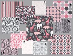 pink and gray