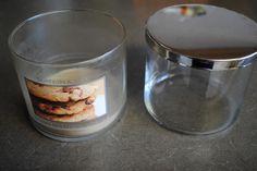 Organizing My Life: Reclaiming Candle Jars!